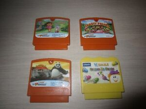 FRENCH VTECH V.SMILE MOTION & V.SMILE GAMES - $5.00 EACH