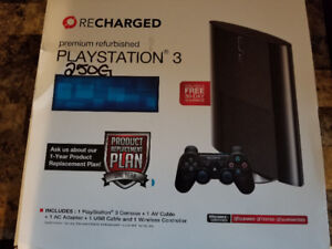 PS3 (Sony Playstation 3) 250G Set of 4 games included !!!