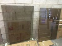 3 tempered glass panes
