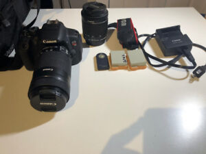 Canon T5i Bundle