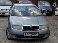 2002 SKODA FABIA Comfort 16v 75bhp 1.4 Auto
