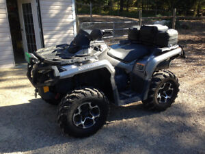 2013 Can-Am Outlander 800XT