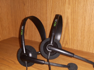 Xbox 360 headsets