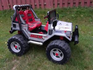 Gaucho rockin jeep