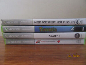 XBOX 360 Games, Great condition