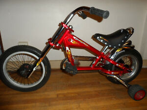 Kid's OCC Chopper Schwinn StingRay Bicycle (With Trainers!)