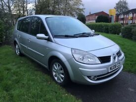 Renault Grand Scenic 1.9 DCI 130 DYNAMIQUE 7-SEAT (silver) 2008