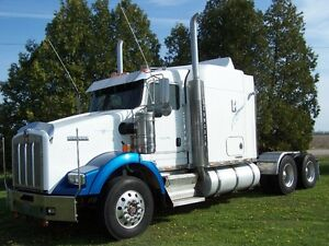 2006 Kenworth T800 Dual stainless Breathers and Exhaust