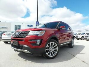 2016 Ford Explorer LIMITED 301A Lane Keeping Assist