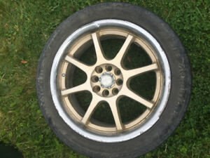 Rims for sale off a pursuit 4 bolt