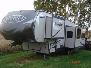 roulotte fifth wheel prowler modele 295, 33pieds