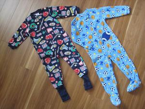 Deux pyjamas en polar Saguenay Saguenay-Lac-Saint-Jean image 1