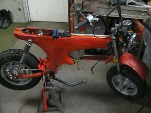 LOOKING FOR  A  HONDA  CT 70  PARTS  OR RUNNING BIKE