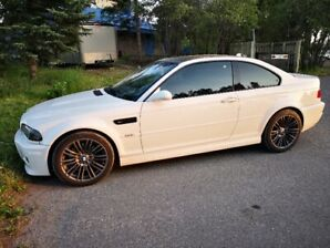 2004 Alpine White BMW M3 Coupe