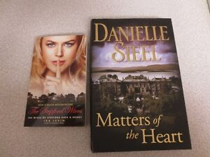 DANIELLE STEEL'S MATTERS OF THE HEART $12 OR STEPFORD WIVES $7