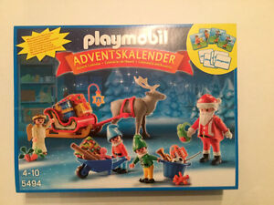 Playmobil 5494 Santa's Workshop Advent Calendar New in box