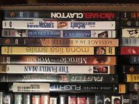 Movies movies movies DVDs
