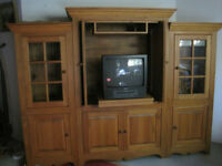 Armoire Solid Pine Wood Costum Made
