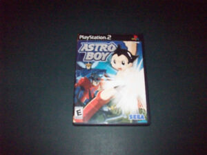ASTRO  BOY  PLAY STATION 2  VIDEO  GAME