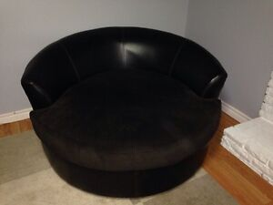 Large comfy swivel chair