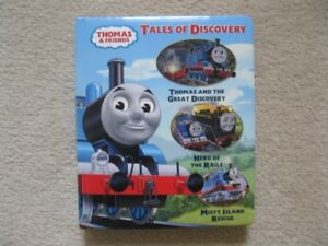 Thomas The Tank Engine Hardcover Book, DVD And Shirt