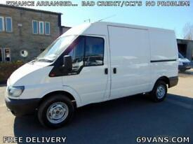 2006 FORD TRANSIT MWB, ONE COUNCIL OWNER FROM NEW, ONLY 52000 MILES!!!