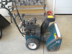2 Snowblowers for $225