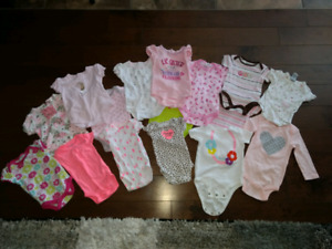 22 Newborn and 3 month Onesies - Excellent Used Condition