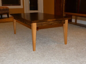 Gorgeous Refinished Solid Birch Coffee Table