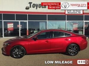 2016 Mazda Mazda6 GT  - Trade-in - One owner - $164.80 B/W