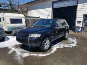 Dismantaling A 2004 Volkswagen Touareg 4.2L V8 Six Speed Auto