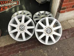 "VW / Audi 16"" aluminum rims"
