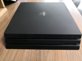 Playstation 4 Pro including 4 games. PS4 Pro