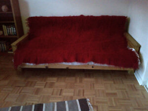 Authentic sheep-wool bed cover or rug, handmade, Transylvanian