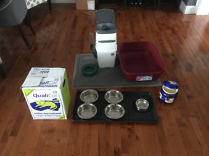 Cat Supplies - Selling All Together -  Great Starter Kit