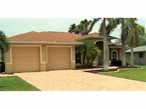 **BEAUTIFUL CUSTOM POOL HOME** located in Cape Coral, Florida