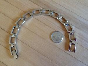 Bracelet femme argent 925 ( sauf le fermoir) 19 cm, lourd