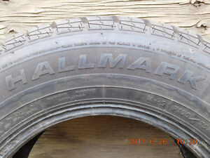 Two All Season tires, 14 inch