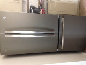 Slate refrigerator and stove for sale