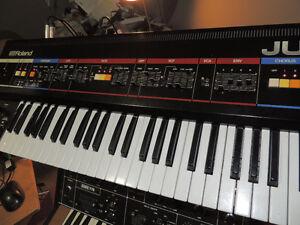 Roland Juno-6 Juno 6 Vintage Analog poly synth keyboard MIDI
