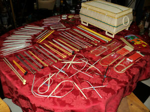 Sewing Basket + OVER 50 sets of Knitting Needles & Accessories Windsor Region Ontario image 2