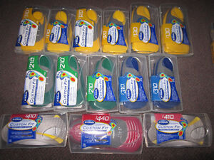 "Dr. Scholl's Custom Fit Orthotic Insoles - like new, Open ""Box"""