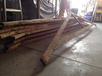 16' roof trusses