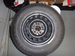 Winter Snow Tires and Rims for Sale