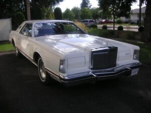 MINT : ALL ORIGINAL 1978 LINCOLN CONTINENTAL
