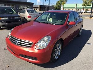 Infiniti G35 V6 4x4  200k Mags Cuire Toit System Bose Mecanic A1