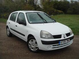 Renault Clio 1.5dCi 65 ( a/c ) Expression, 91K, GREAT CHEAP TO RUN DIESEL