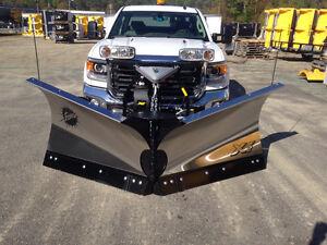 """V-Plow for truck Fisher XV2 Stainless Steel 8.5"""""""