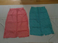 BRAND NEW LADIES COTTON POLKA DOT SKIRTS FOR SALE