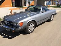 1982 380SL in great condition Custom Silver Blue